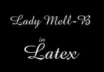 Lady Mell-B in Latex